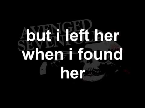 Dear God - Avenged Sevenfold [Lyrics]