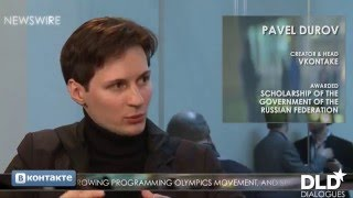 Dialogue - Pavel Durov (CEO At Telegram) & Matthew Bishop | DLD12