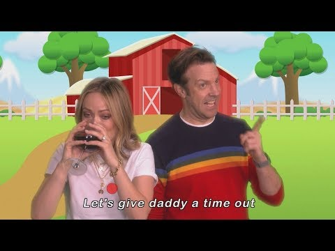Bree - Olivia Wilde and Jason Sudeikis Let's Give Mommy a Time Out Music Video.