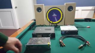 Diy - How To Hook Up A Car Stereo, Amp & Subwoofer In House
