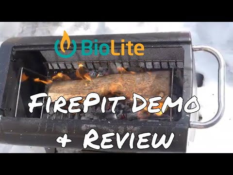 Biolite Firepit Demonstration and Review