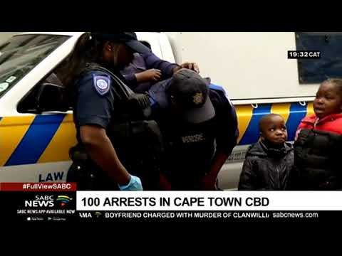 About 100 people arrested in Cape Town following protests