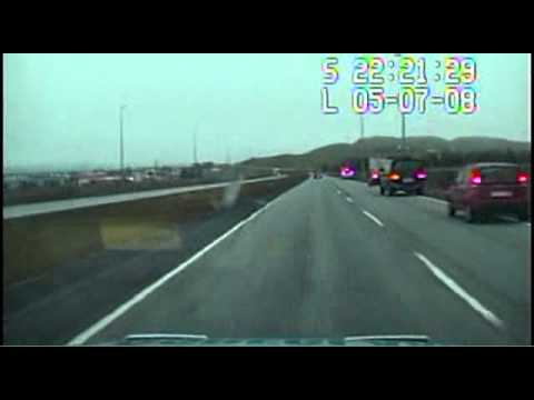 Icelandic car chase