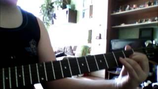 мой первый видео урок на песню Штиль группы Ария