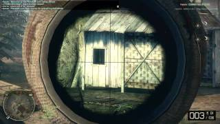 Battlefield Bad Company 2 Vietnam - M40 Sniping Gameplay