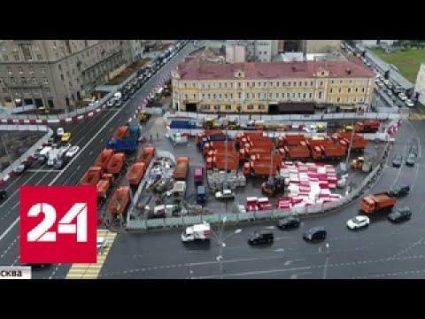 От Белорусского вокзала снова пойдут трамваи