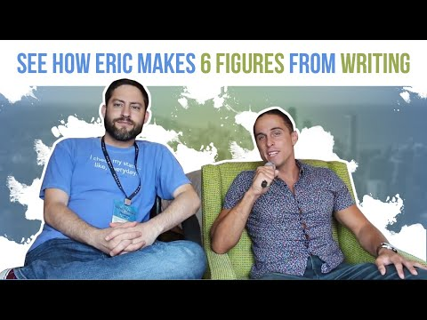 How Eric Earns Six Figures as a Freelance Writer
