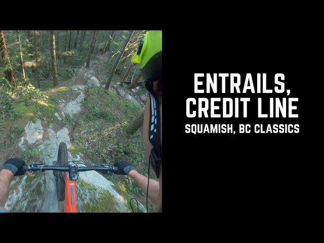 I fell off a bridge and got lost in the dark: Squamish BC
