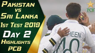 Pakistan vs Sri Lanka 2019 | Full Highlights Day 2 | 1st Test Match | PCB