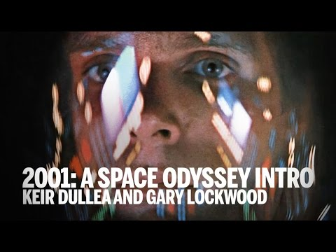 2001: A SPACE ODYSSEY DUCTION  Keir Dullea & Gary Lockwood  TIFF 2014