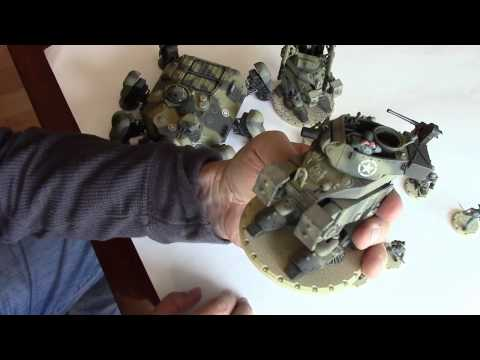 Dust Tactics Operation Babylon Kickstarter Unboxing