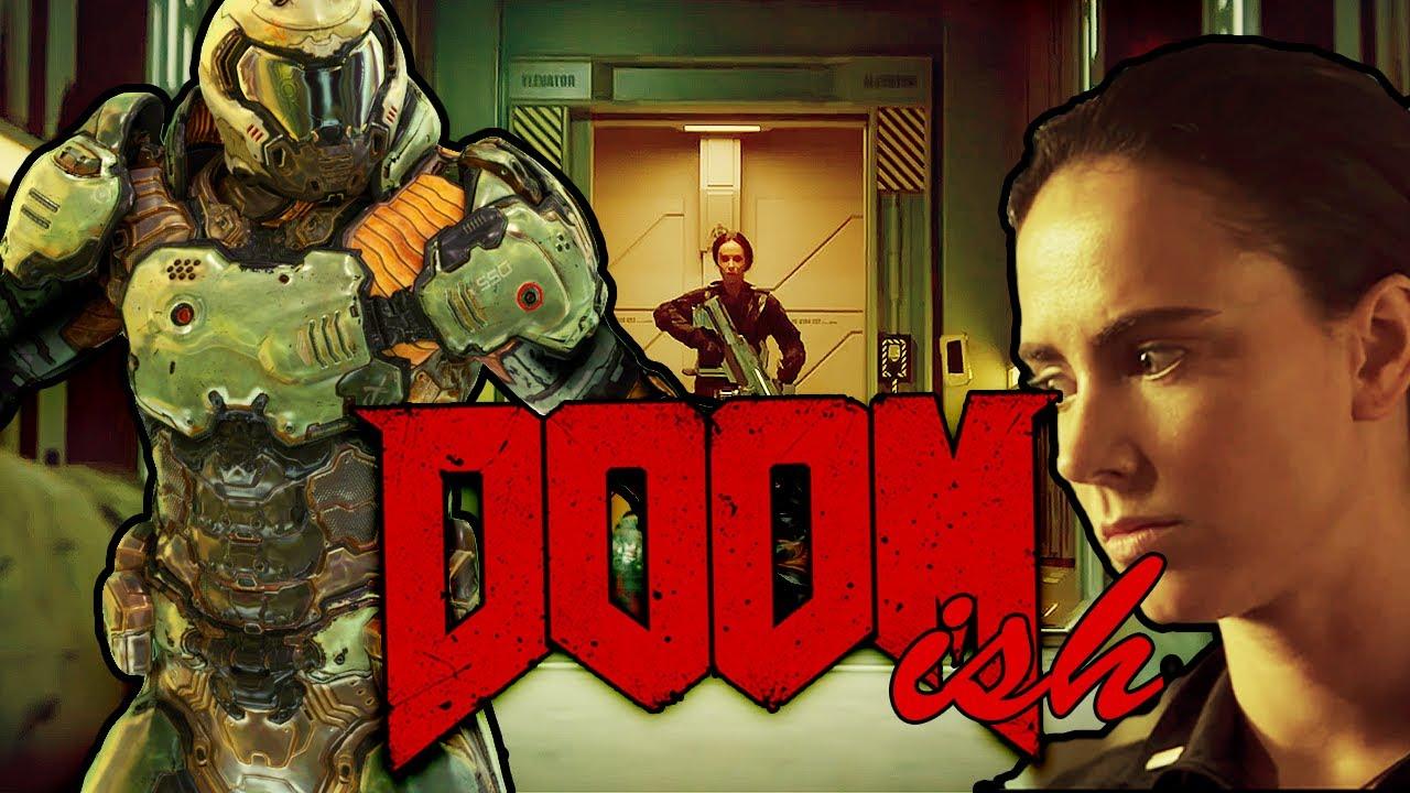 Doomish Doom (Doom Movie Trailer 2019 recut/colorized + Doom Game Theme  Music 2016 )