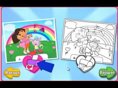 Dora l 39 exploratrice joyeuse saint valentin jeux enfants hd - Jeux dora l exploratrice gratuit ...