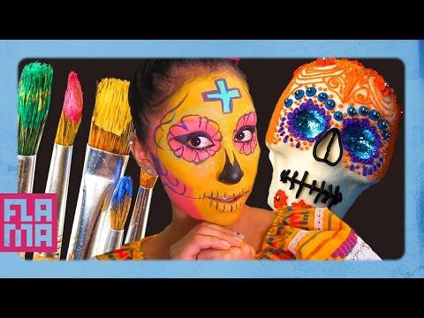 Dia De Los Muertos: Sugar Skull Tutorial thumbnail