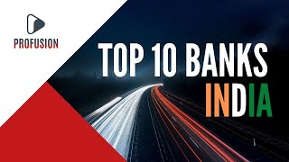 Top 10 Largest Baฑks in India by Total Assets (2021)