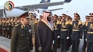 أخبار مصر: الفريق أول صدقي صبحي يستقبل وزير الدفاع السعودي