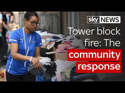Tower block fire: The community response