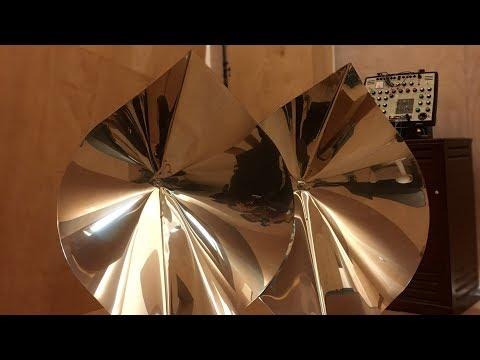 The Cristal Baschet and the Percussion Baschet @Studio Venezia