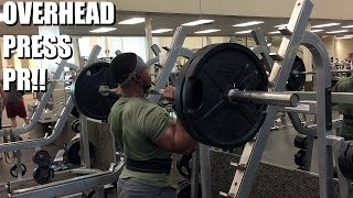 Commercial Gym Rant | Overhead Press PR | The Return Ep. 12