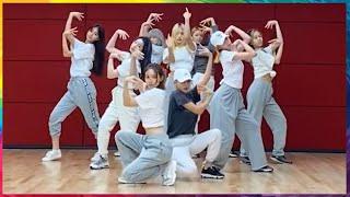 [MIRRORED] OT9 TWICE (트와이스) - 'Feel Special (필스페셜)' Dance Practice (안무연습 거울모드)