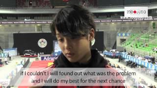 Christa Deguchi (JPN) Interview - World U21 Championships 2013 - Ljubljana (SLO)
