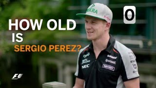 Grill The Grid - Nico Hulkenberg