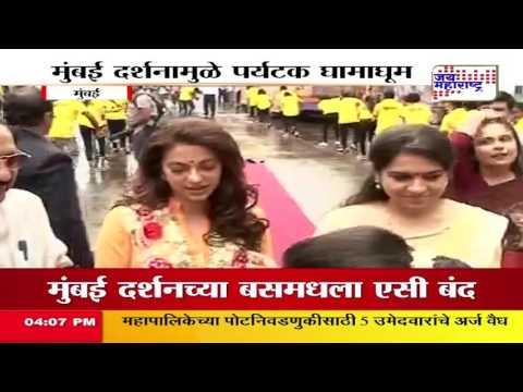 AC failure mars Mumbai Darshan bus service launch