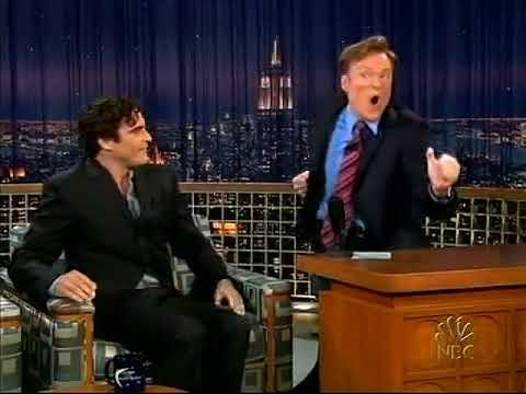 Conan O'Brien 'Joaquin Phoenix 10/1/04