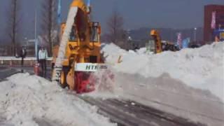 除雪機械・実演会/HTR85 (1/3)
