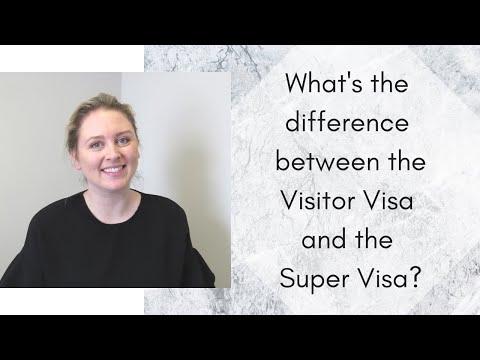 VISITOR VISA VS. SUPER VISA