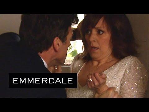 Emmerdale - Pierce Attacks Rhona