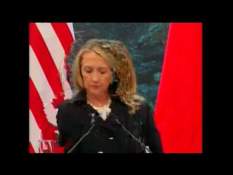 Secretary Clinton Answers Questions With Chinese Foreign Minister Yang