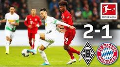 Last-Minute Drama in Top Clash I Borussia Mönchengladbach vs. FC Bayern München I 2-1 I Highlights