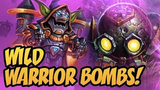 Wild Warrior Bombs! | Rise Of Shadows | Hearthstone