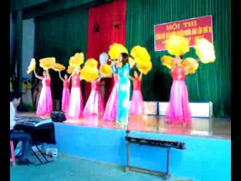 clip văn nghệ giáo viên trường THCS Nghĩa Yên