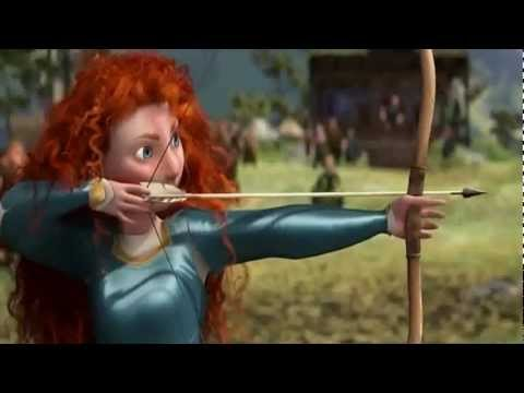 BEST SCENE from the movie Brave.2012