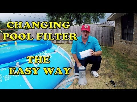 Changing an Intex Pool Pump Filter The Easy Way