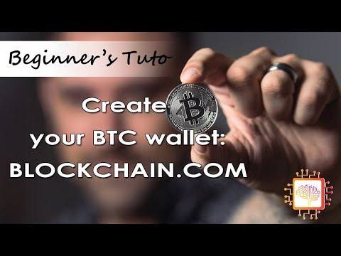 💰 Create Simple Wallet Bitcoin Blockchain.com - HOW TO