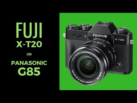 Fuji X-T20 vs Panasonic G85 /G80 - What to Buy? (UPGRADING Nikon D3100)