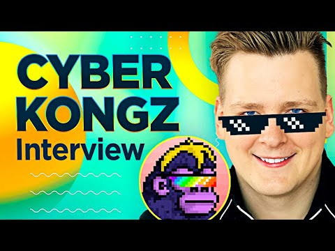 CYBER KONGZ BIG INTERVIEW!! Aping in to JPEGs, Building Metaverse