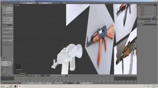 blender 3D tutorial bauen ein Gewehr (AK-47) Teil 7