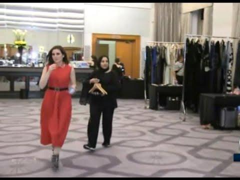 -قصص عربية- تتألق في أسبوع الموضة في لندن  - نشر قبل 53 دقيقة