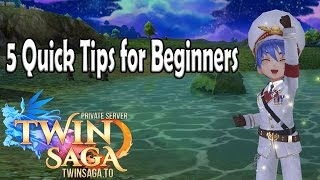 5 Quick Beginner Tips | Twin Saga PS