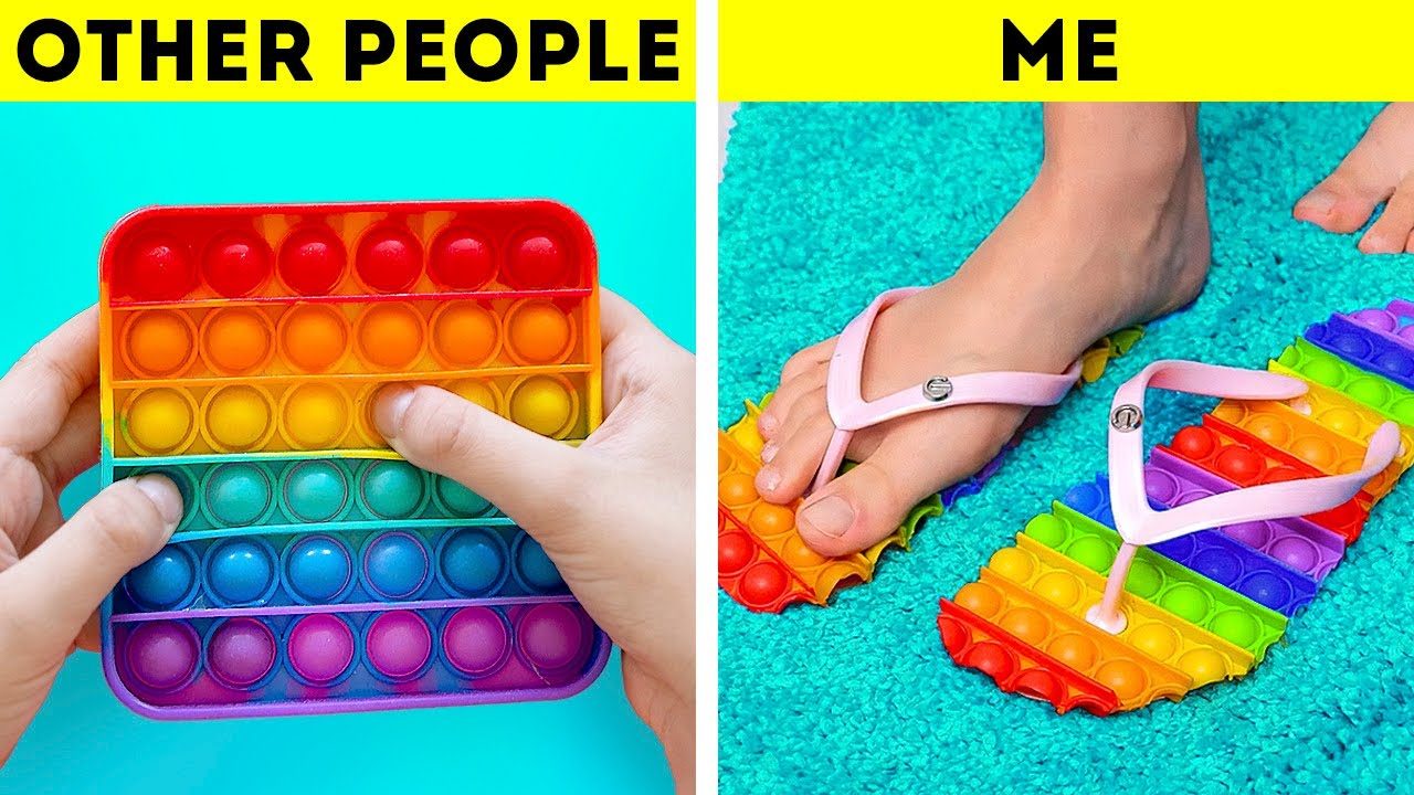 Clever POP IT hacks You'll Be Grateful For || Cool Science Experiments