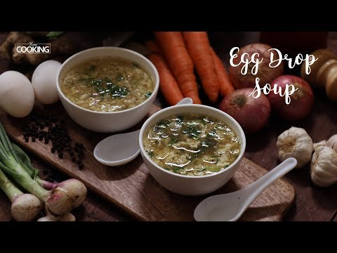 Bone Broth Egg Drop Soup