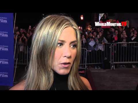 Jennifer Aniston interviewed at 30th Santa Barbara International Film Festival