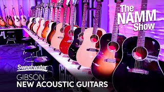 Gibson Booth Visit - New Acoustic Guitars at Winter NAMM 2020