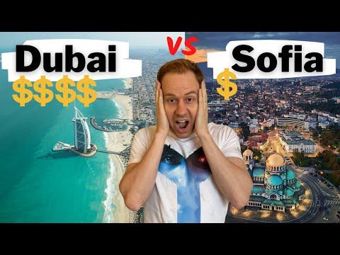 Dubai VS Sofia - Comparing Costs of Living 😱😱😱