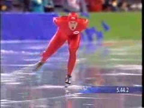 5000 m Skøyter - Lillehammer OL - 13. februar 1994