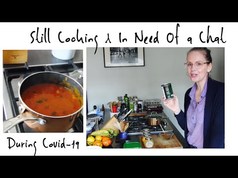 CHATTING & COOKING // What I'm Up To During Lockdown // Indian Inspired Baked Beans